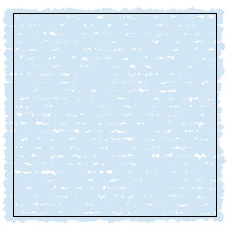 散布ブラシによってランダムな模様が現れている図版