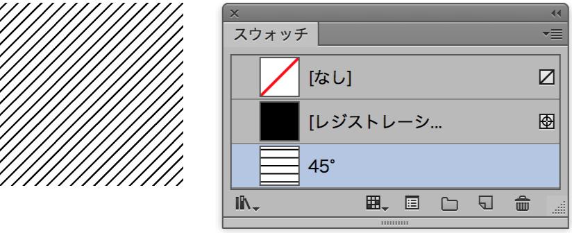 パターンスウォッチ回転で作成した状態の図版