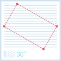 斜線パターンアイキャッチの図版