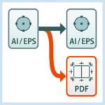 【解決】元データを消さずいつもの設定でPDFを書き出したい!